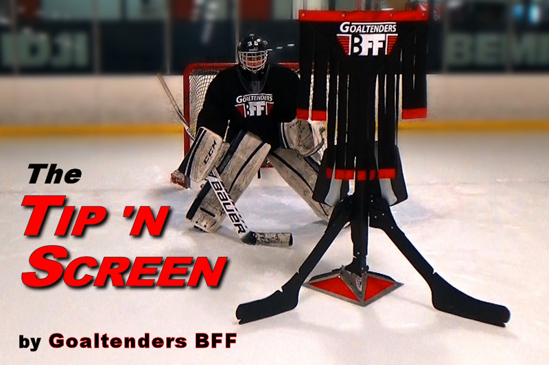 The TIP 'n SCREEN by Goaltenders BFF