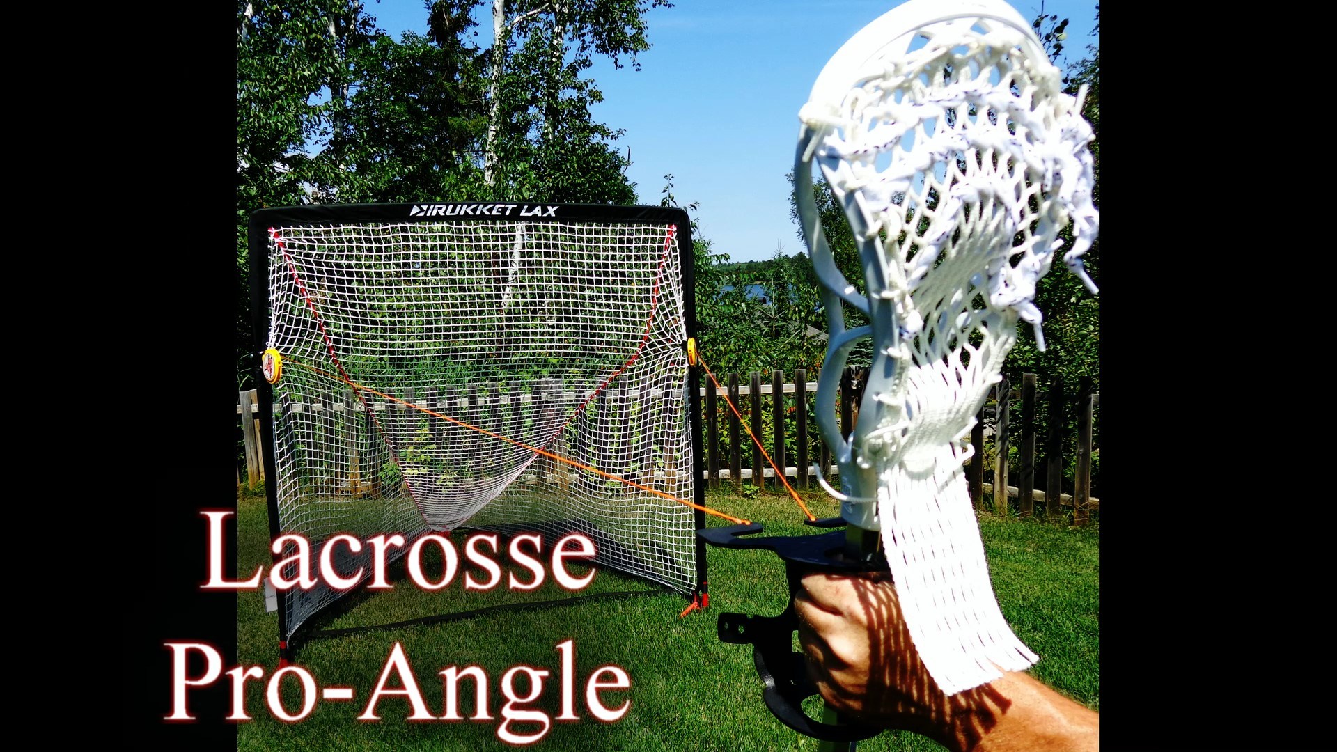 The Lacrosse Pro-Angle by Goaltenders BFF